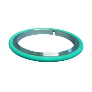 IS0-Zentrierring 1.4301/Viton DN 100 Øb=99,5 / Øc=102 / d=3,9 / e=8